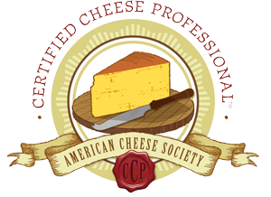"ZZest Receives the American Cheese Society's ""Certified Cheese Professional"" Credential"