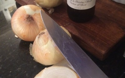 french onion soup time